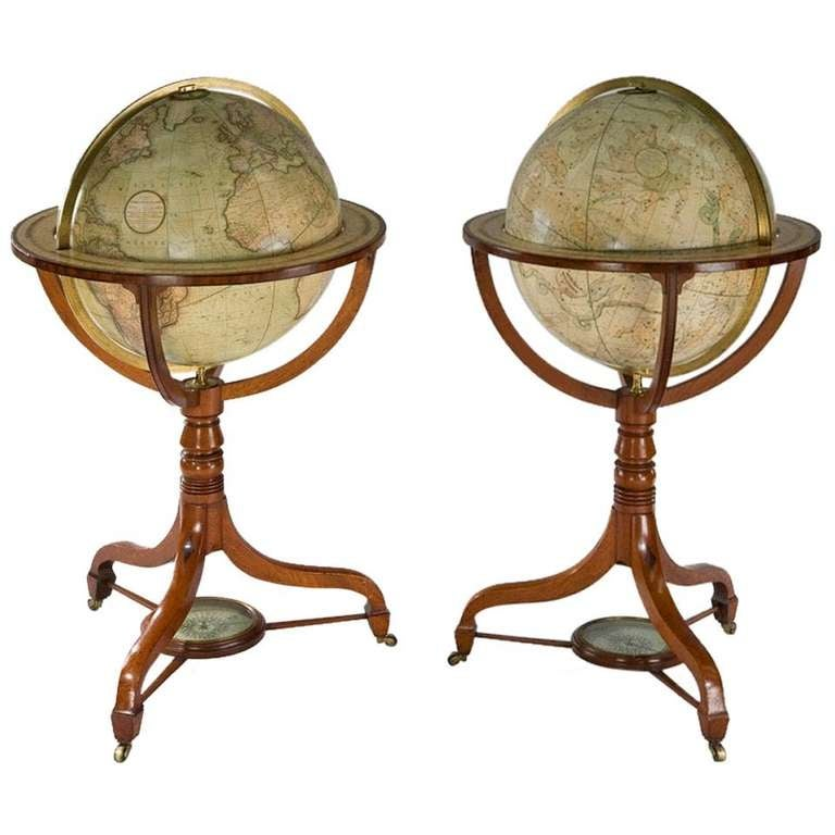 """Cary's 21"""" Library Globes"""