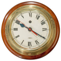 Smiths Astral Ship's Bulkhead Clock with Eight Day Movement