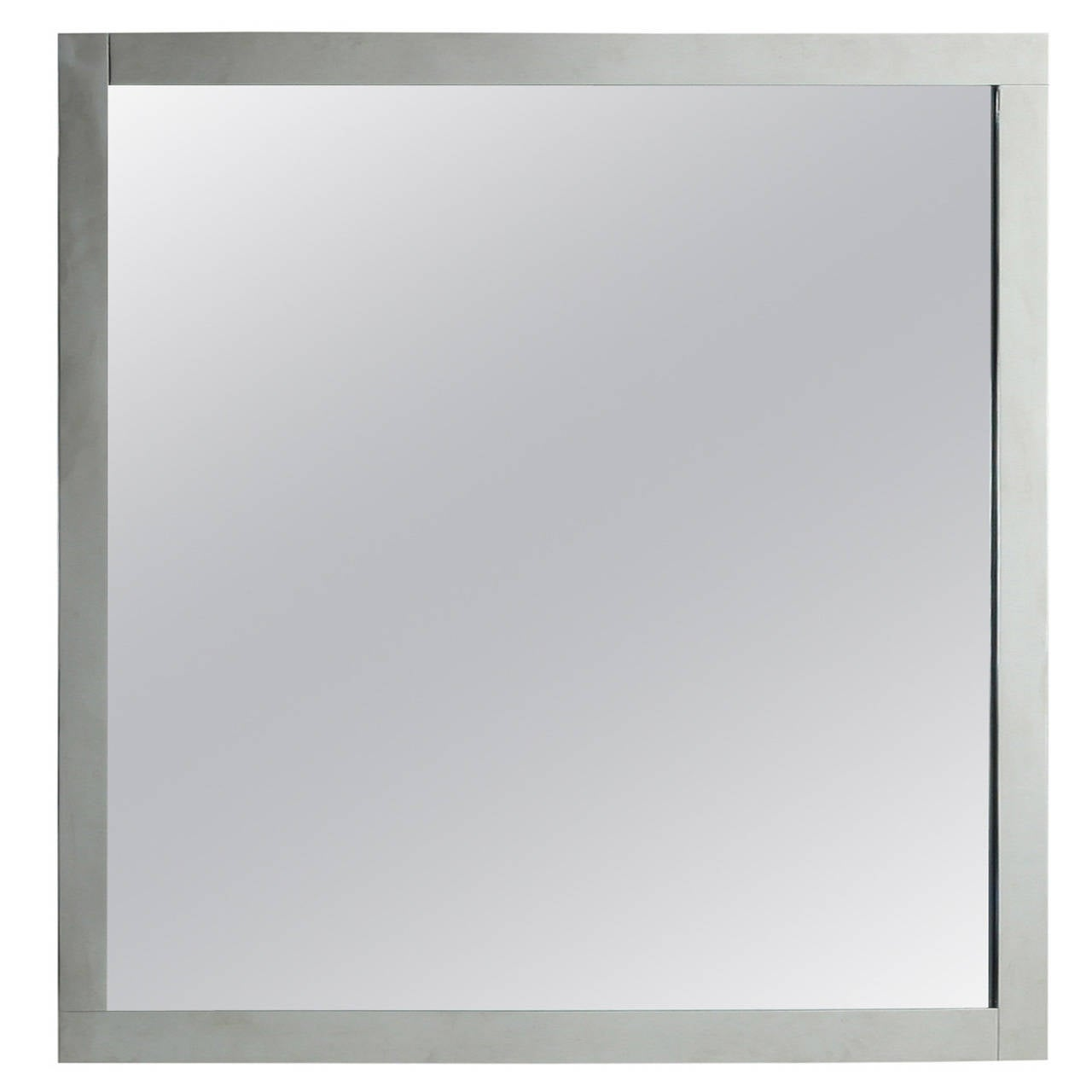 Large Minimalist Dominioni Wall Mirror For Azucena, Italy, 1960s