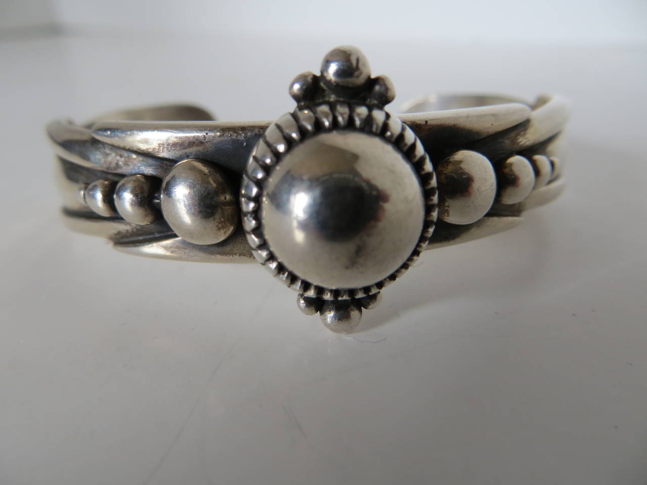 Sterling silver bracelet; made by world renowned artist and silversmith