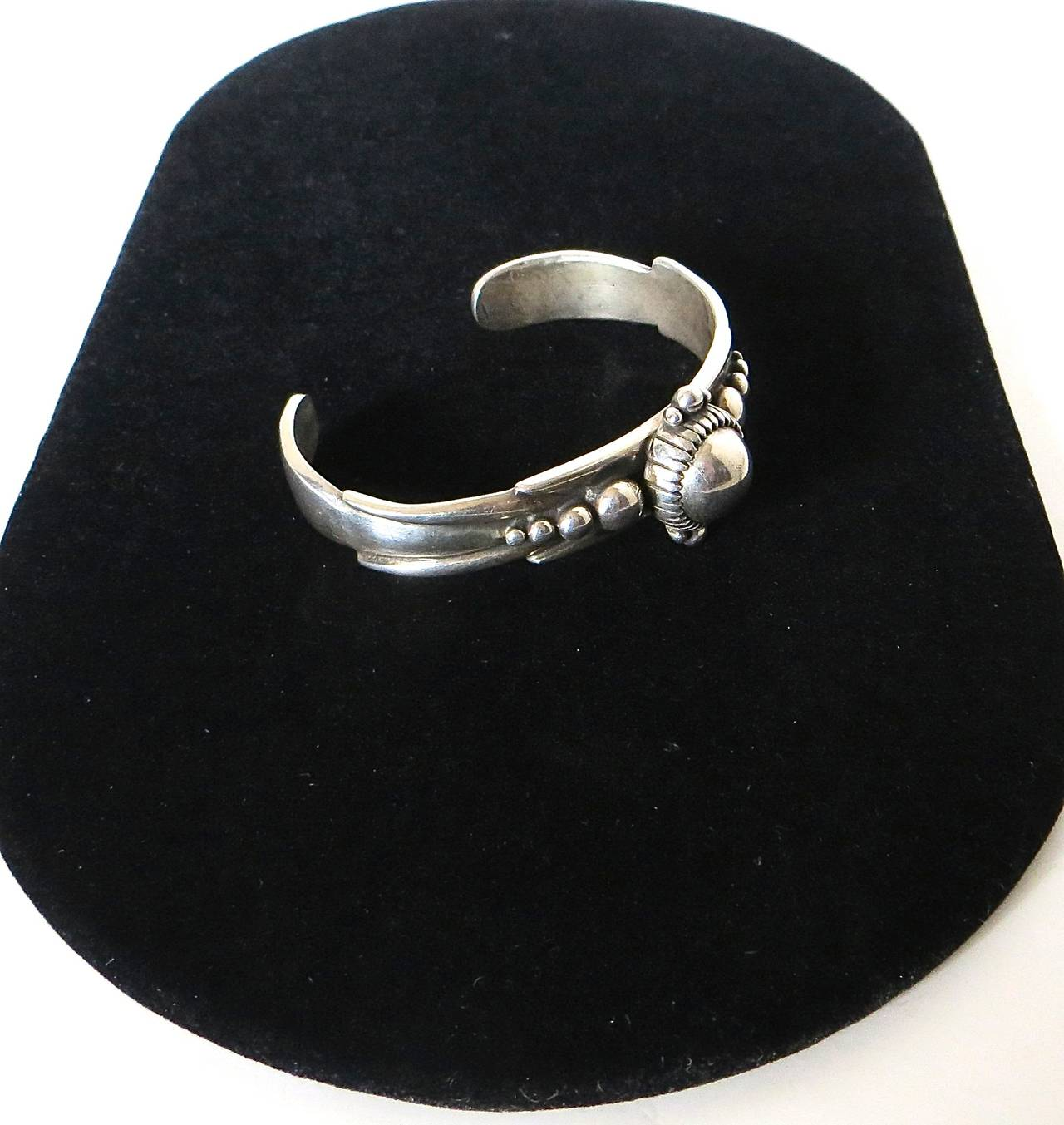 Sterling Silver Bracelet by David Dear 'Contemporary' In Excellent Condition For Sale In Incline Village, NV