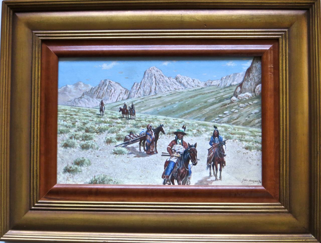 "John Hauser ""Mountain Desert Trail"" Dated 1896 2"