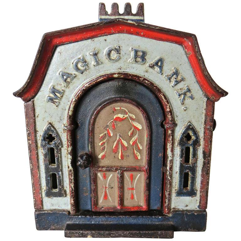 "Mechanical Bank ""Magic Bank,"" circa 1876"