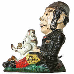 "Mechanical Bank ""Paddy and the Pig,"" circa 1886"