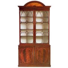 George III Mahogany Bookcase, circa 1785