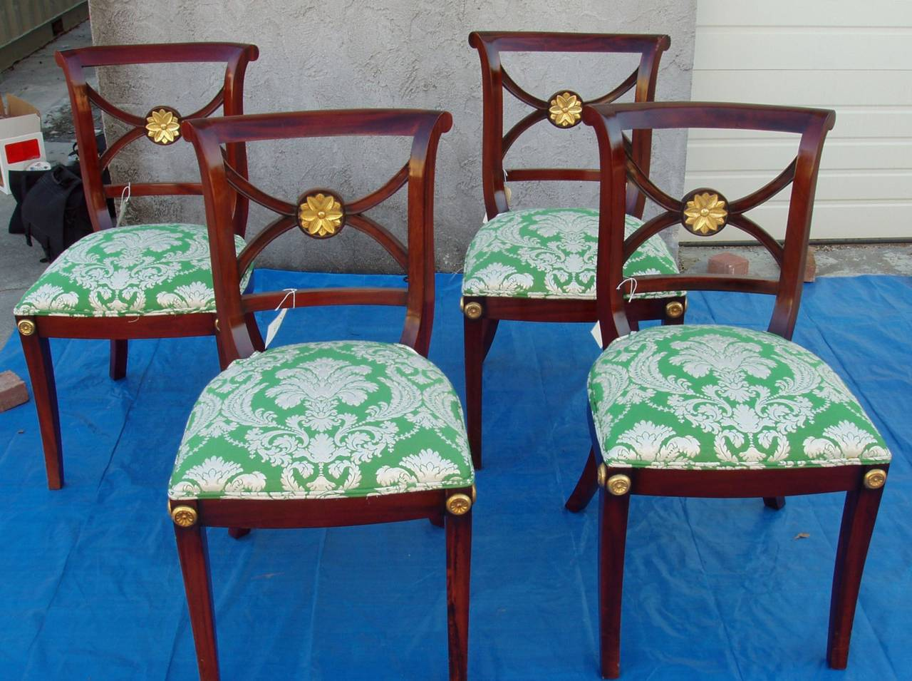 To the Manor born chairs if chairs were socialites, here they are!