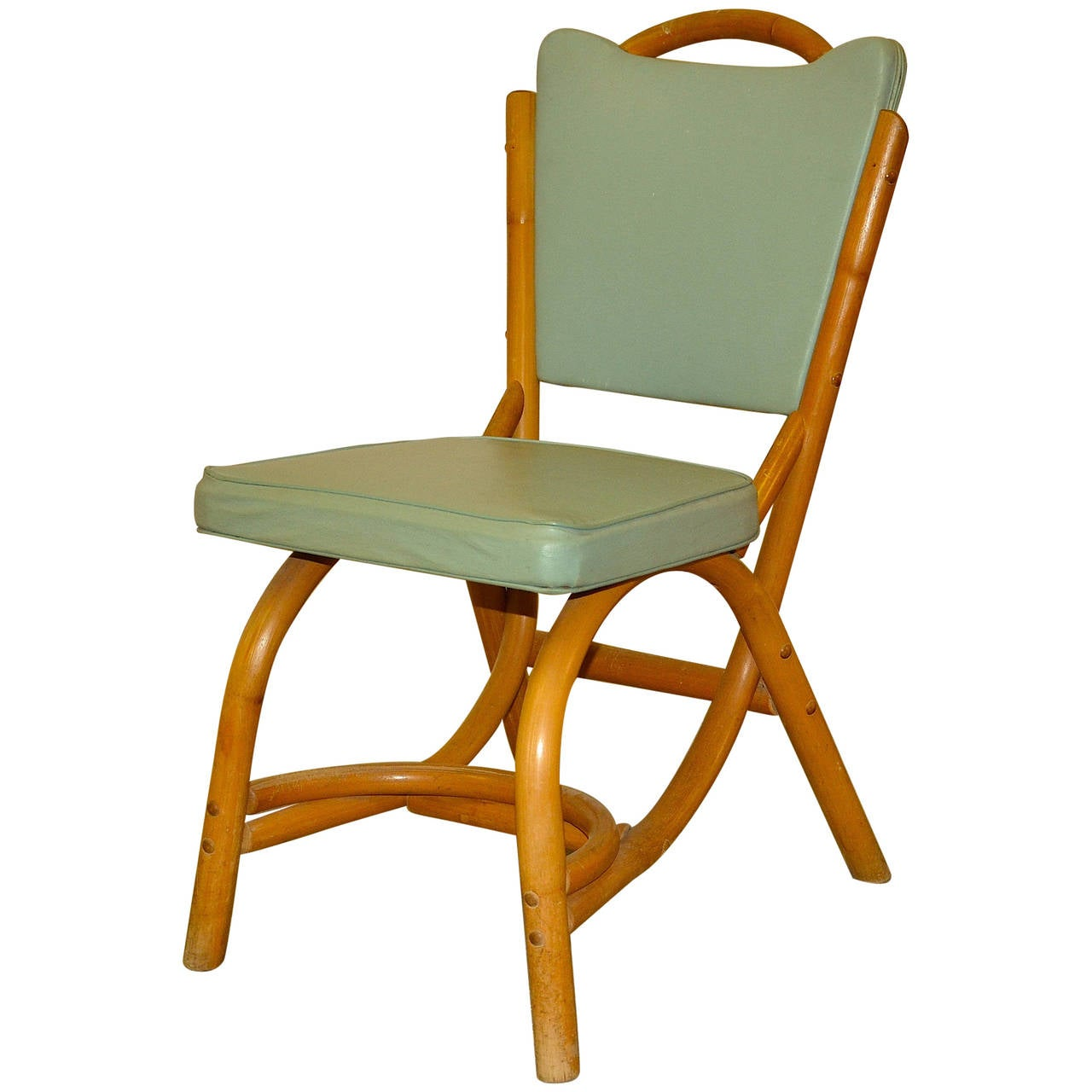 1960s cool midcentury bamboo side chair tommi parzinger for Sixties style chairs