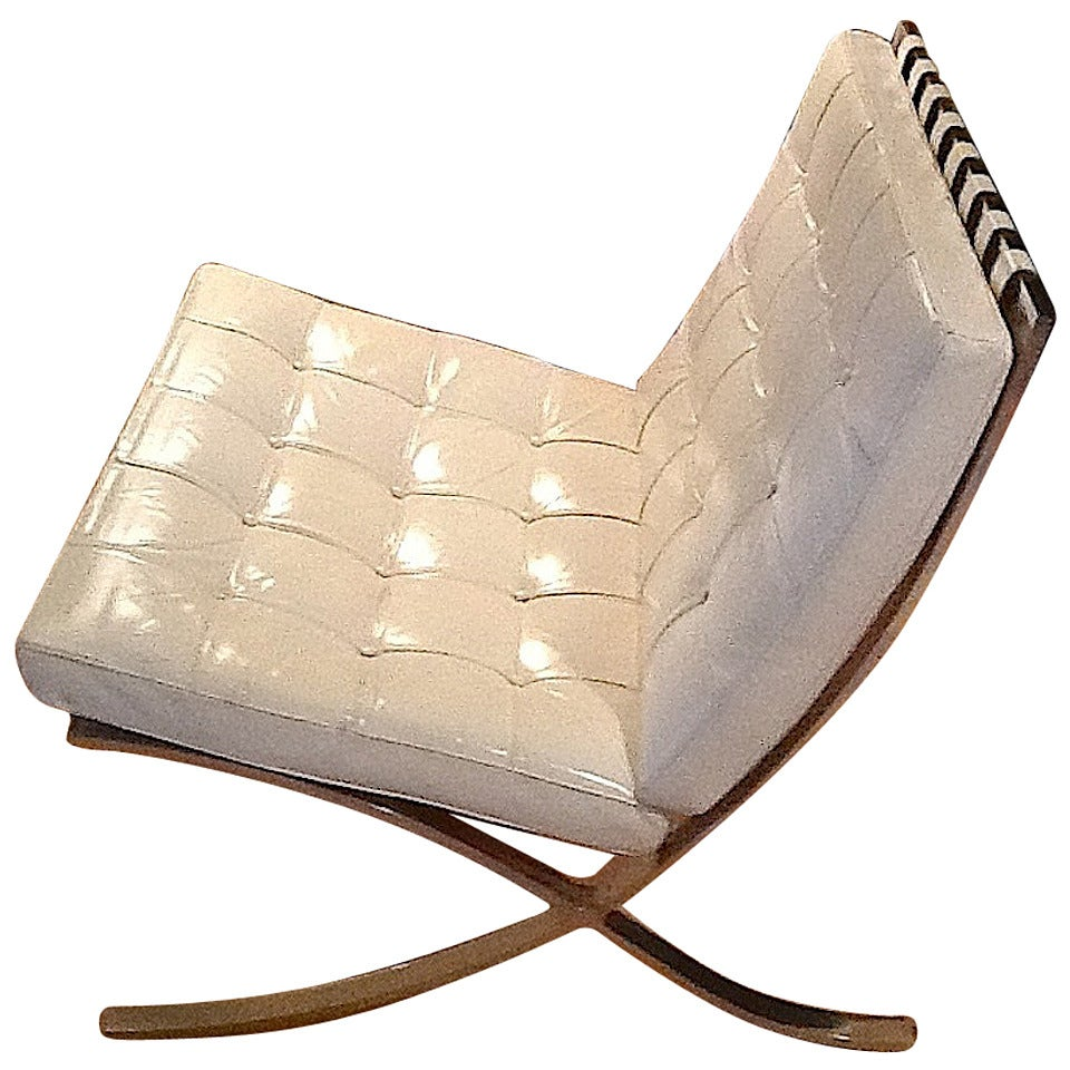 1970 original mies van de rohe barcelona chair for knoll. Black Bedroom Furniture Sets. Home Design Ideas