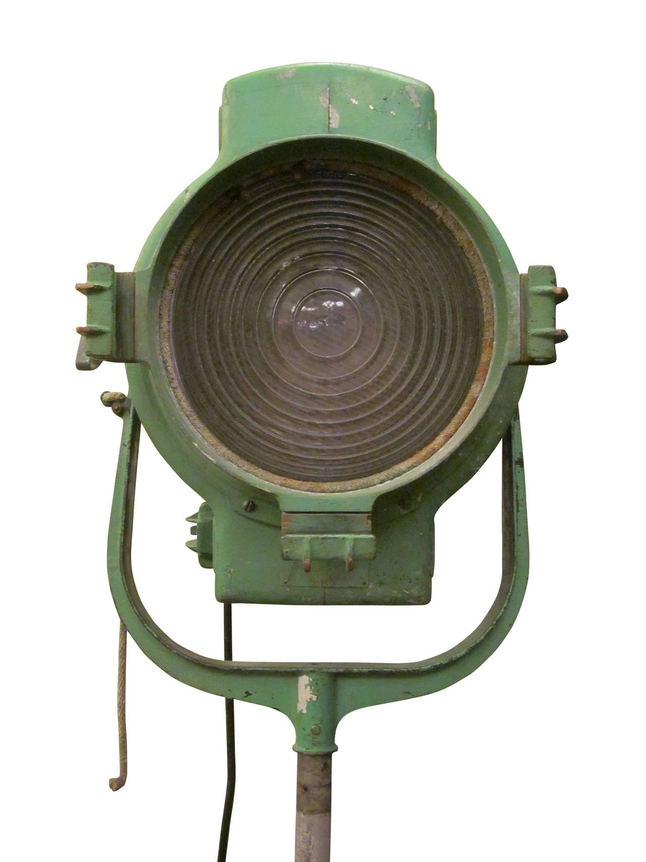 1940s Mole Richardson Green Movie Spot Light At 1stdibs