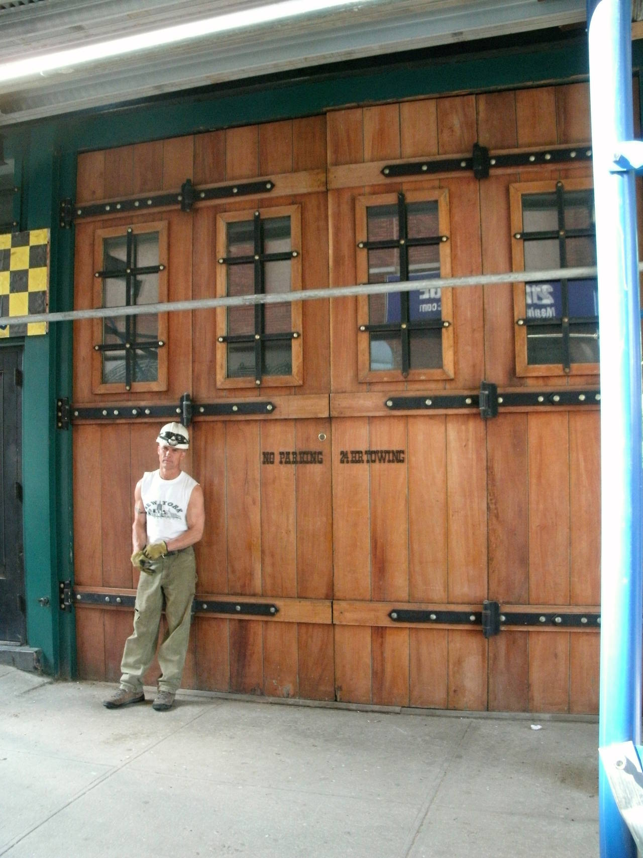 Oversized Doors Salvaged From A West Side Building In Manhattan. These  Exterior Doors Are Great