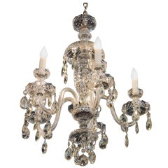 Waterford Five-Arm Cut Crystal Chandelier