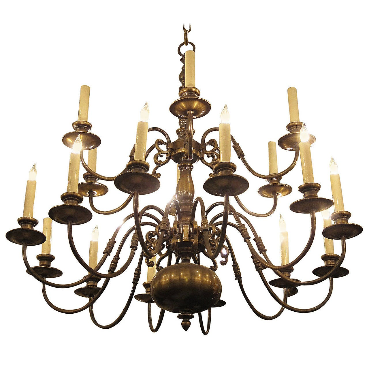 chandelier gull chandeliers sea p polished style lighting brass traditional light colonial