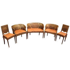 French parlor set