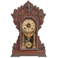 Seth Thomas Wooden Mantel Clock