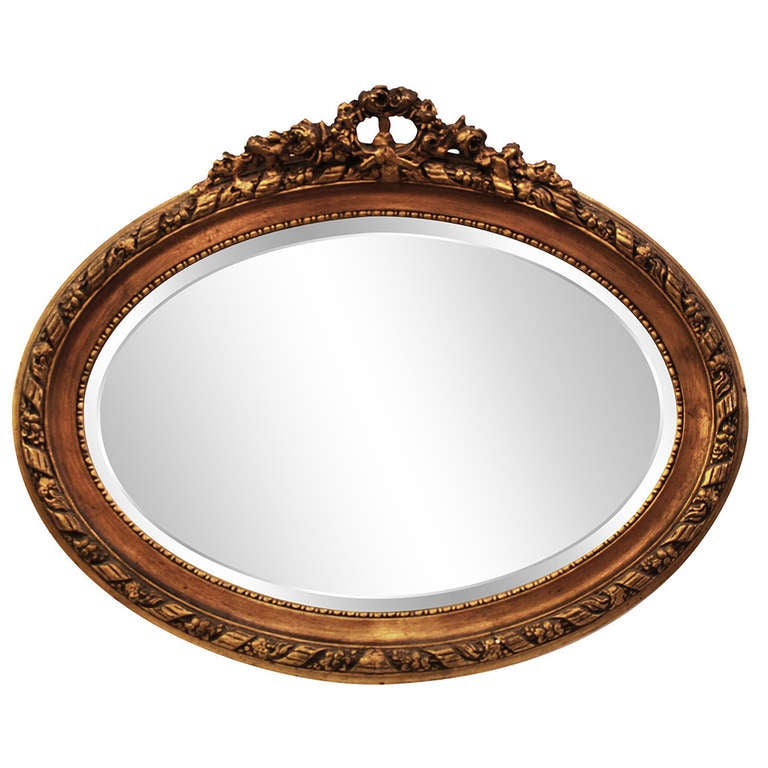This Antique Gold Gilded Frame Mirror is no longer available.