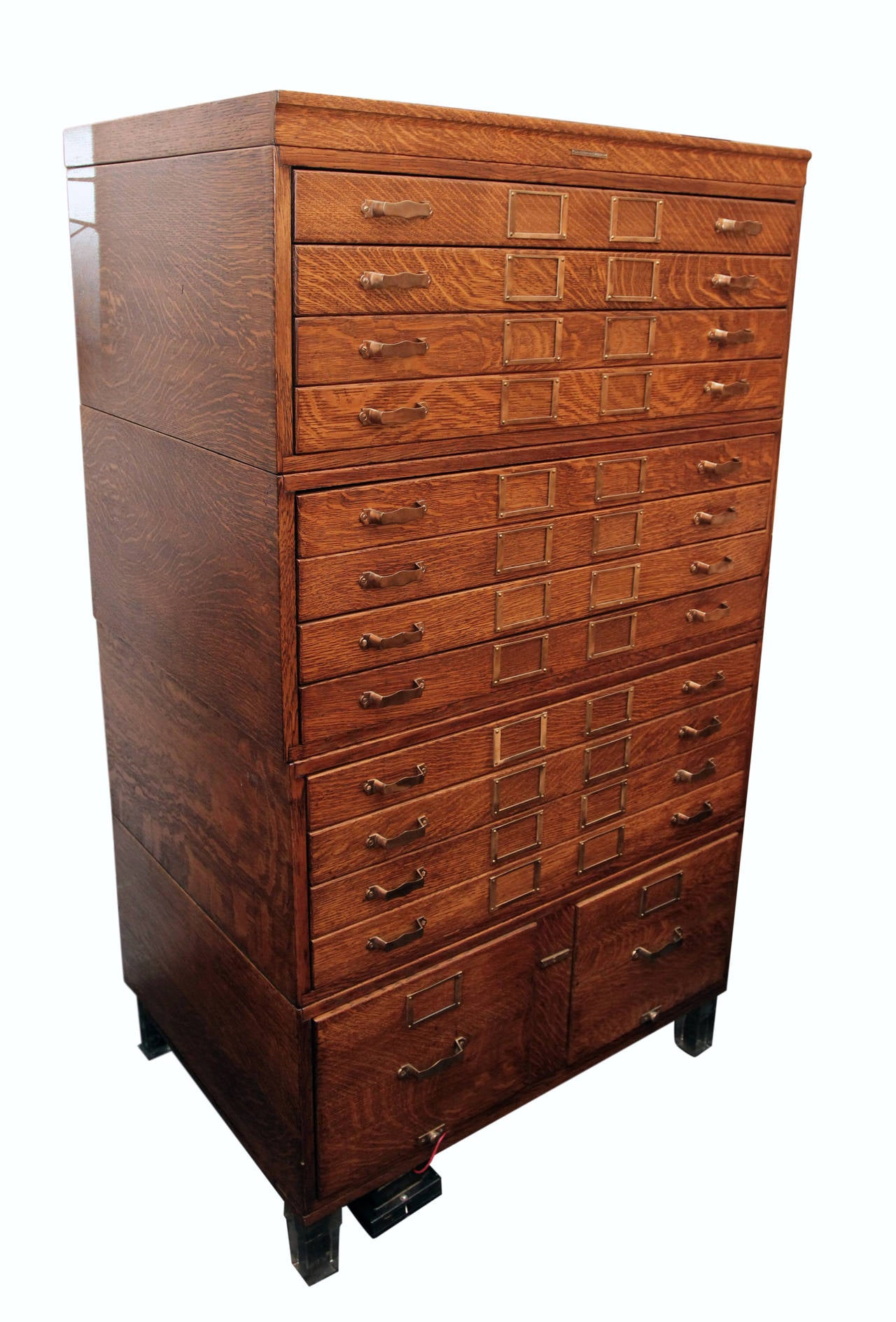 chest company benedict map p currey cabinet