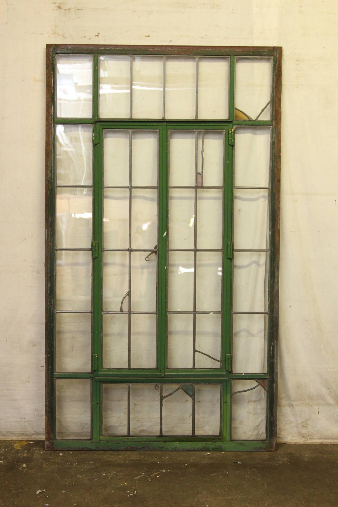Old Casement Windows : Wisconsin casement steel frame window with accents