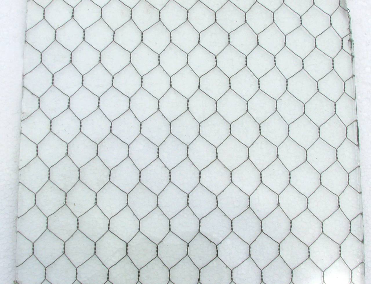1920s Clear Industrial Chicken Wire Glass, Large Sheets Available In Excellent Condition For Sale In New York, NY