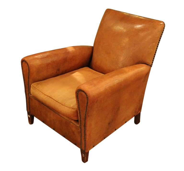 Ordinaire Elegant French Club Chair From The 1940s. This Can Be Seen At Our 302 Bowery