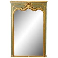 Ornate Mirror from Beligum 1940s
