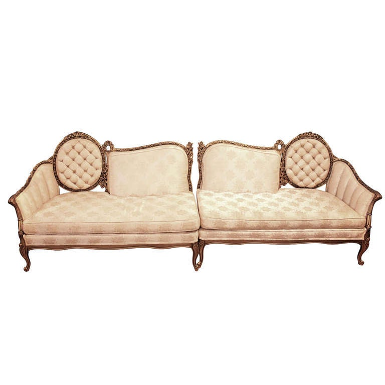 Pair Of Victorian Antique Loveseats For Sale At 1stdibs