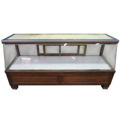 1940s Pastry Store Cabinet