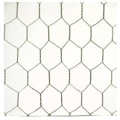1920s Clear Industrial Chicken Wire Glass; Large Sheets Available