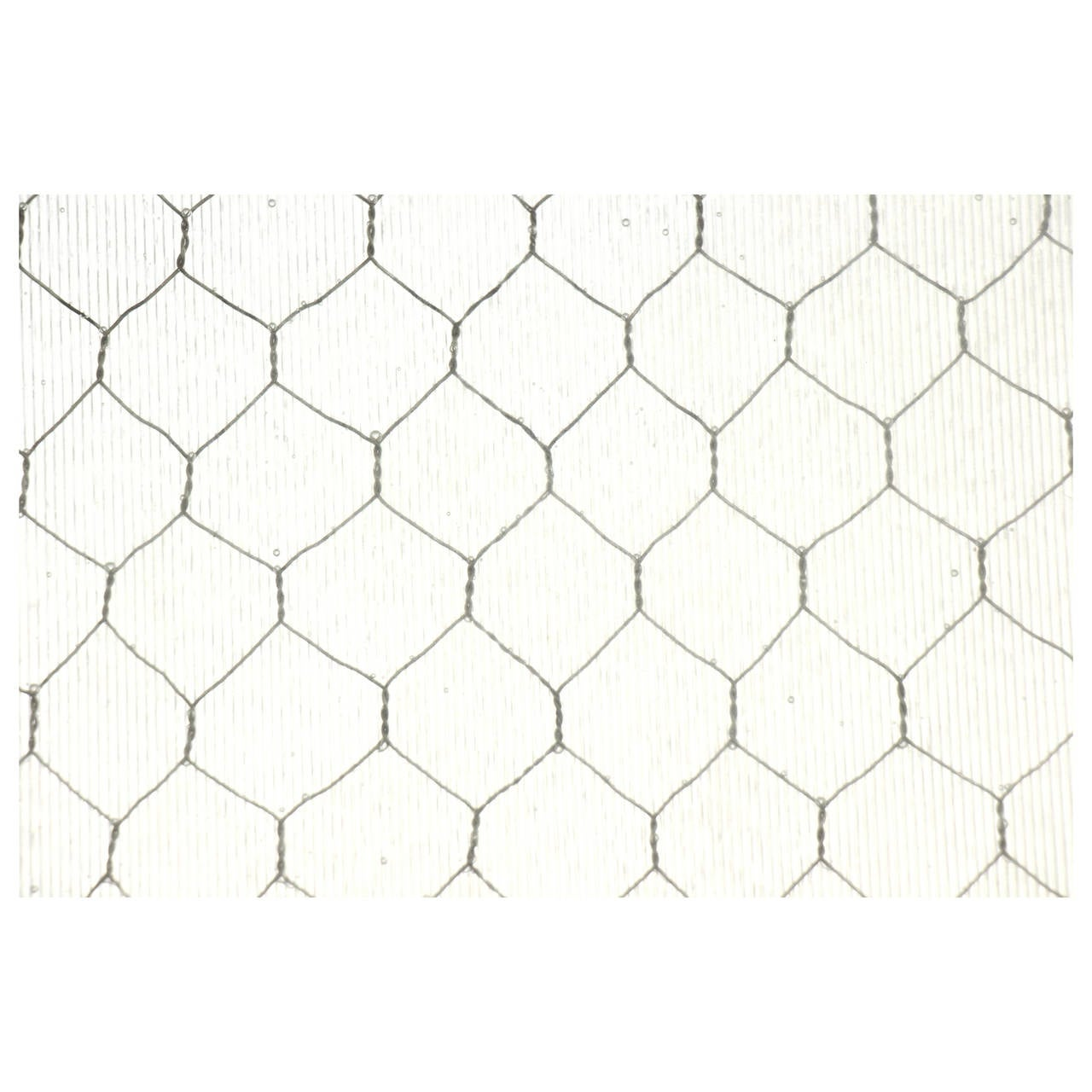 1920s Ribbed Textured Vintage Chicken Wire Glass For Sale