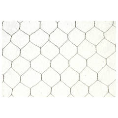 1920s Ribbed Textured Vintage Chicken Wire Glass