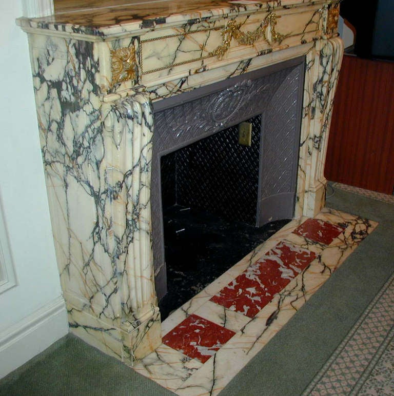 Original Marble Mantel from the Plaza Hotel in NYC at 1stdibs