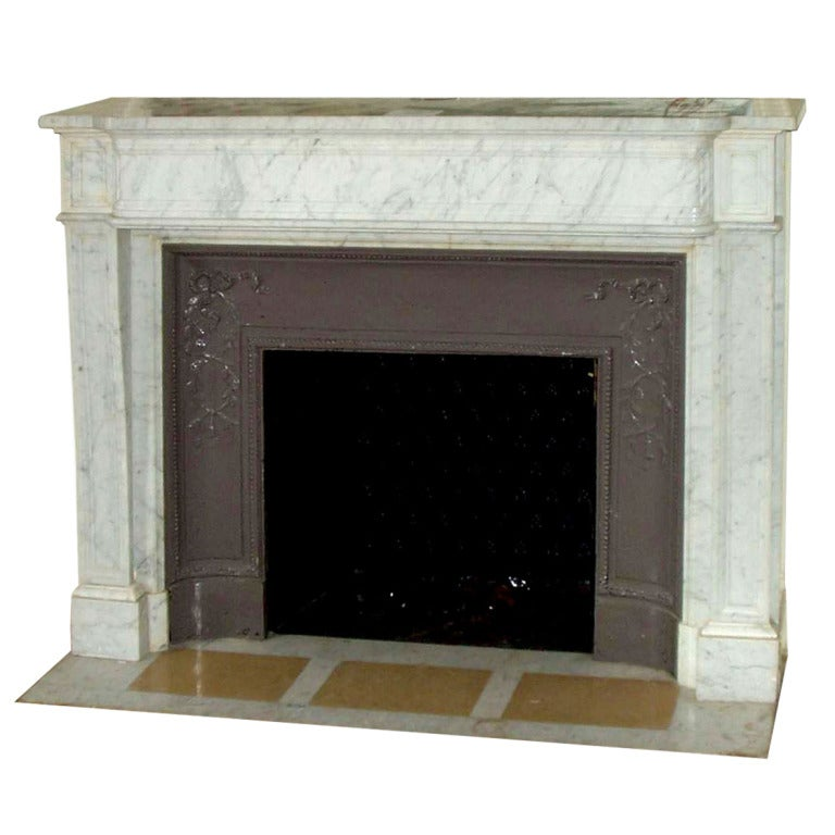 Original marble mantel from the plaza hotel in nyc for for Marble mantels for sale