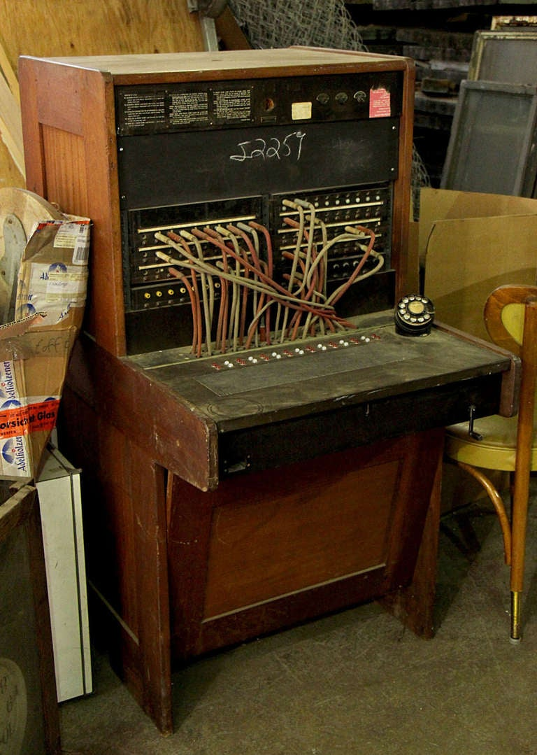 Vintage Western Electric Telephone Switchboard For Sale At
