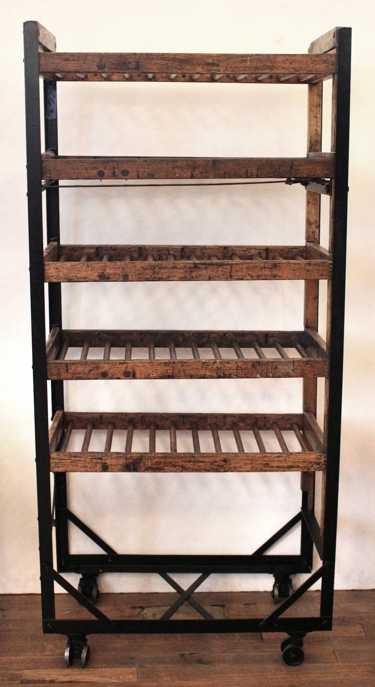 Antique Narrow Shoe Rack At 1stdibs