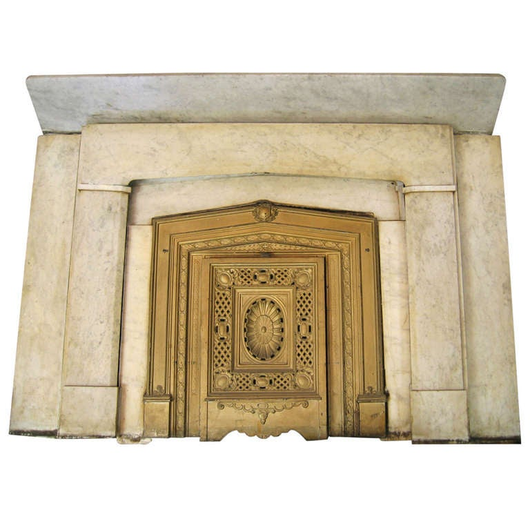 Marble Fireplace Mantel From Gramercy Park At 1stdibs