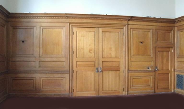 Oak Paneled Rooms : Italian renaissance beaux arts tiger oak paneled room