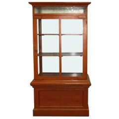 Early 20th Century Antique Cabinet Display