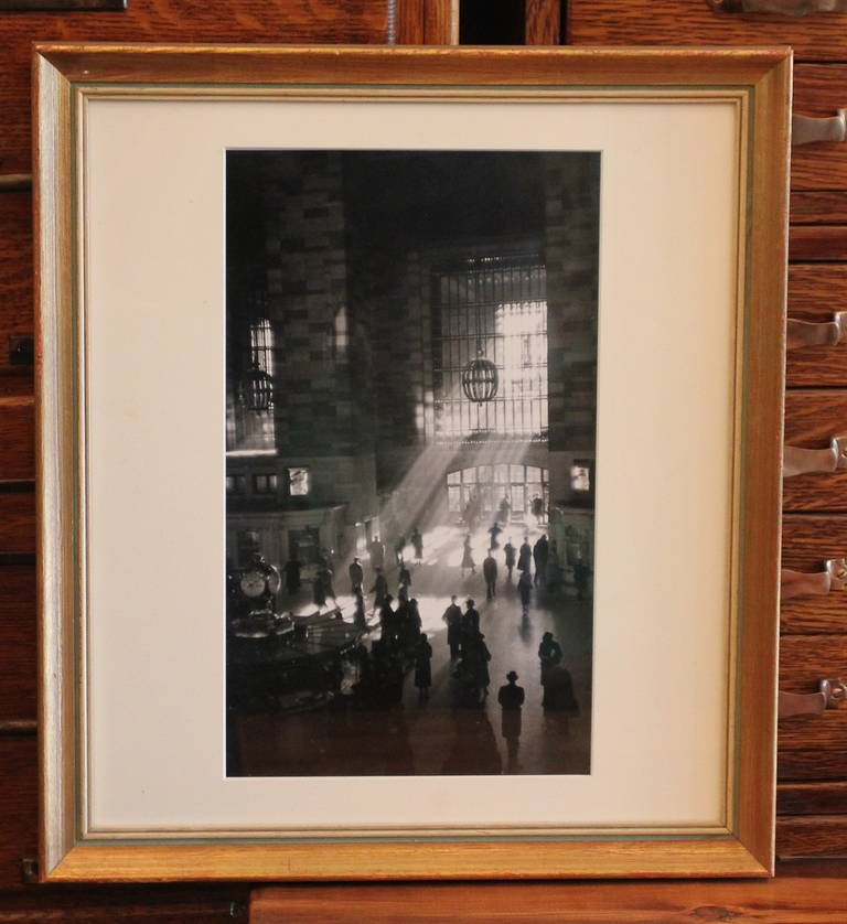 Reprint Photo of Grand Central Station Signed by George Daniell 2