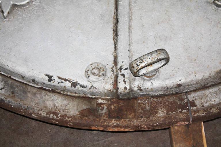 Cast Iron Boiler Door at 1stdibs