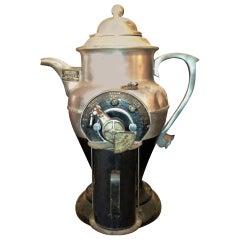 1936 Rare and Unique Art Deco Coffee Grinder