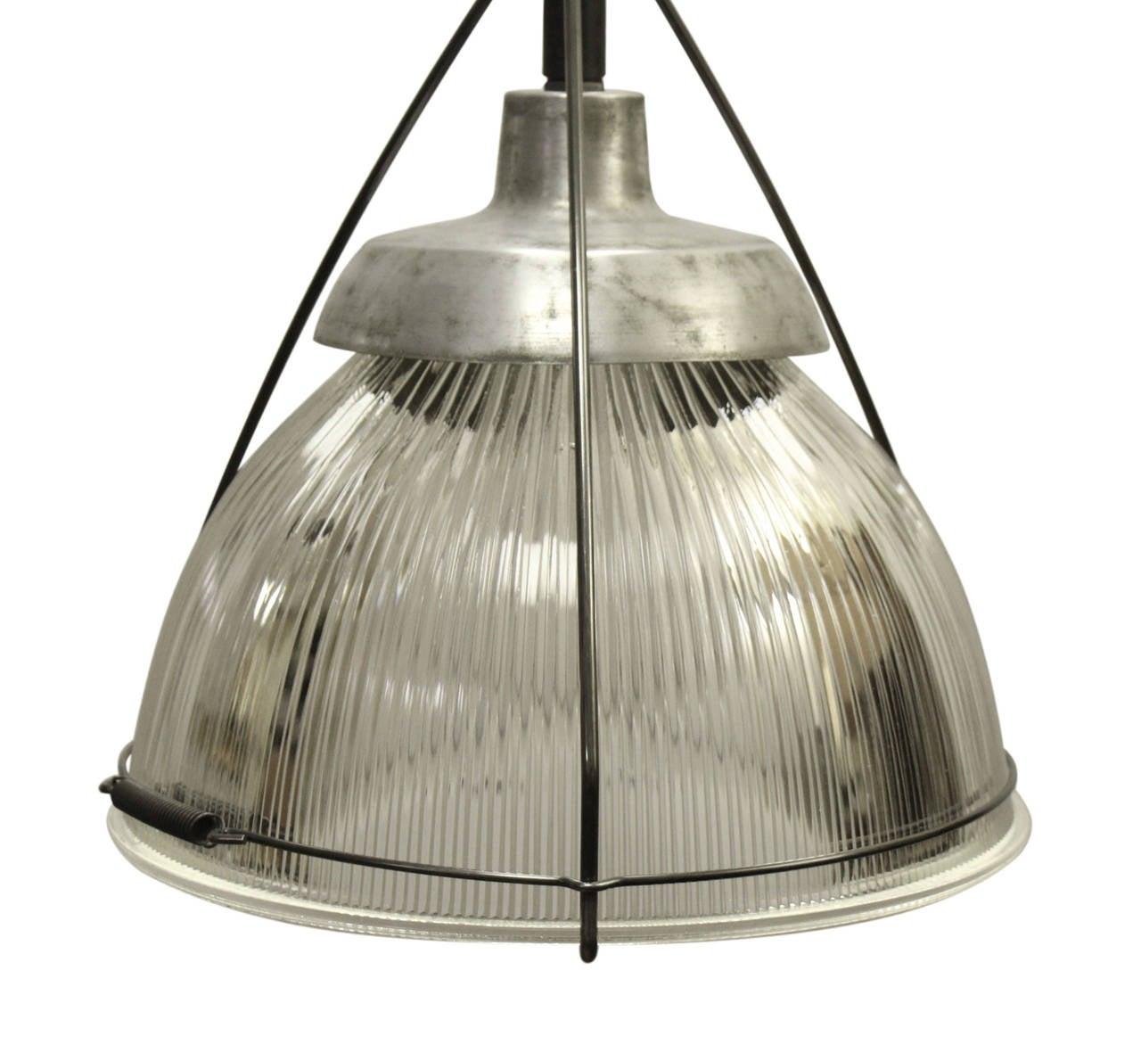 Pendant Light Sale: Industrial Holophane Pendant Light For Sale At 1stdibs