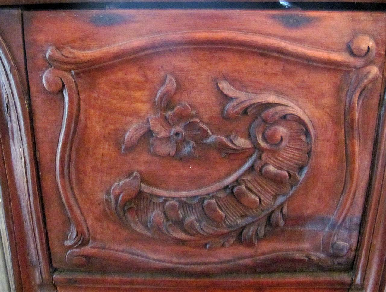 Victorian Carved Wood Chamber Pot For Sale 1