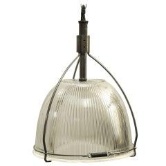 Industrial Holophane Pendant Light