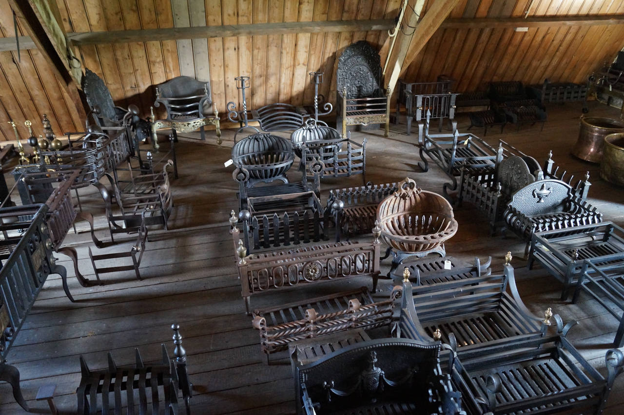 Antique Fireplace Grates Fire Grates For Sale At 1stdibs