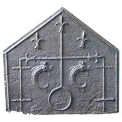 15th/16th Century Gothic Fireback