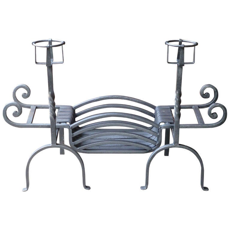 20th Century Fireplace Grate, Fire Grate For Sale