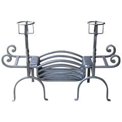 20th Century Fireplace Grate, Fire Grate