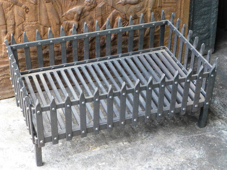 19th century fireplace basket or fire grate at 1stdibs