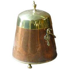 19th C. Dutch Copper Doofpot