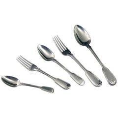 Antique English Silver Flatware