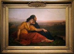 Jewish Captives at Babylon by American Painter Edward Harrison May